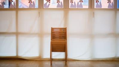 Wegen eines positiven Covid-19-Tests der Kindergärtnerin bleibt im Oberthurgau das Zimmer einer Kindergartenklasse für zehn Tage leer. (Symbolbild: Benjamin Manser)