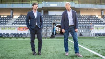Ciriaco Sforza und Assistent Daniel Hasler verlassen den FC Wil Richtung Basel (Bild: Urs Bucher)