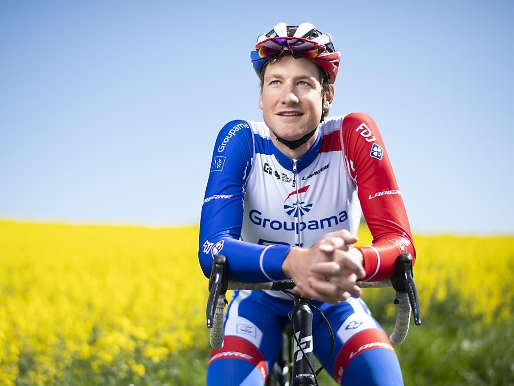 Stefan Küng vom französischen Team Groupama-FDJ