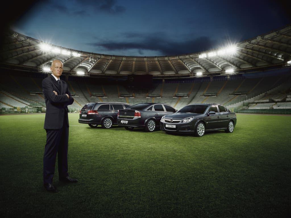 Der Werbedeal mit Opel kostete Collina letztlich sein Engagement als Schiedsrichter