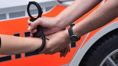Ein Erwachsener und drei Jugendliche im Alter von 16 und 17 Jahren wurden vorläufig festgenommen. (Symbolbild: PD)