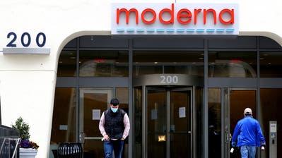 Moderna hat nun auch in Basel einen Ableger. Für die Schweizer Tochter sucht das Unternehmen über 20 Mitarbeiter. (Maddie Meyer / Getty Images North America)