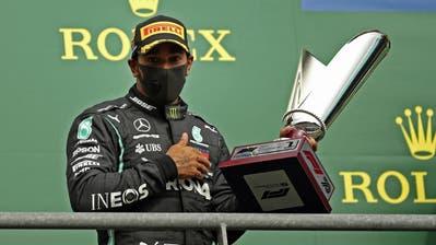 Lewis Hamilton ist Sieger inSpa-Francorchamps. (Bild: Francisco Seco / AP)