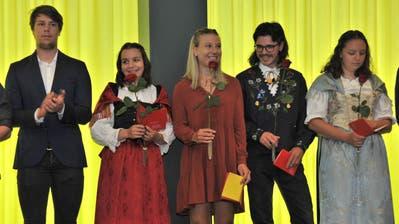 Zierpflanzengärtnerin Jasmin Gisler aus Schattdorf. (Bild: Christian Tschümperlin)