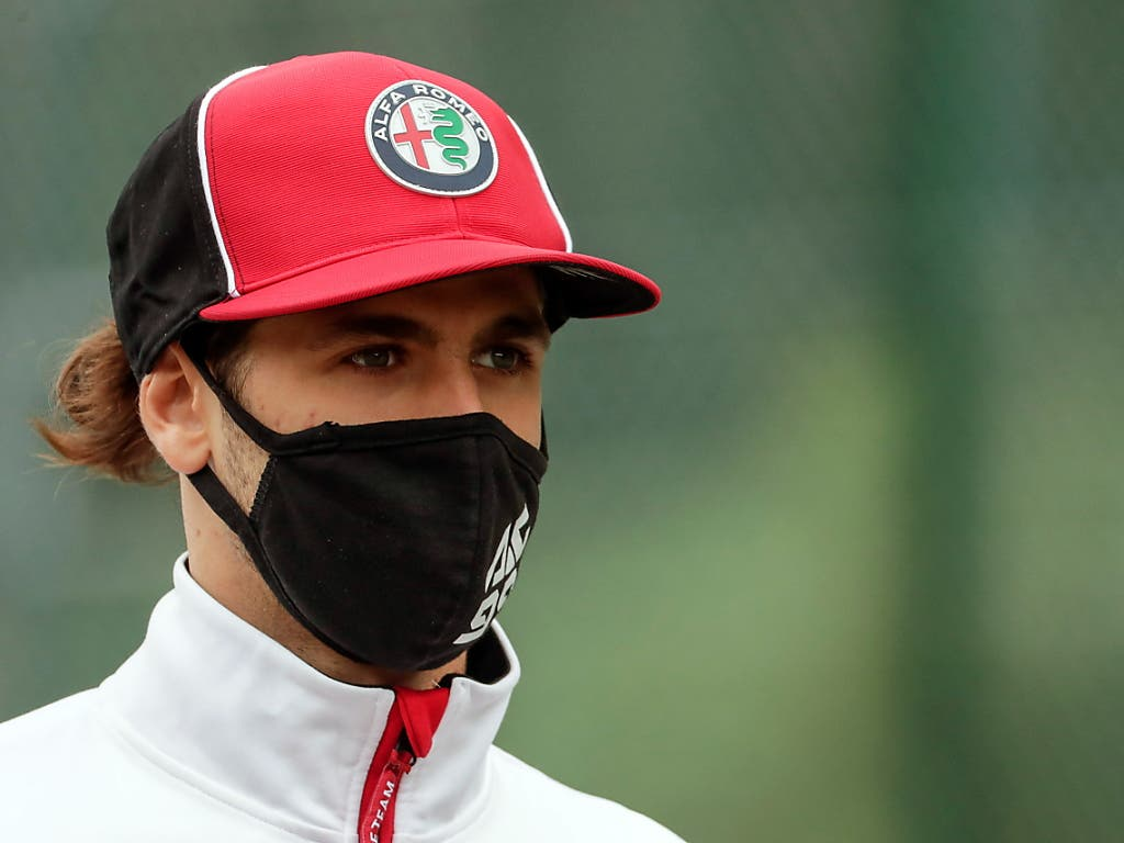 Antonio Giovinazzi schied nach einem glimpflich verlaufenen Unfall aus