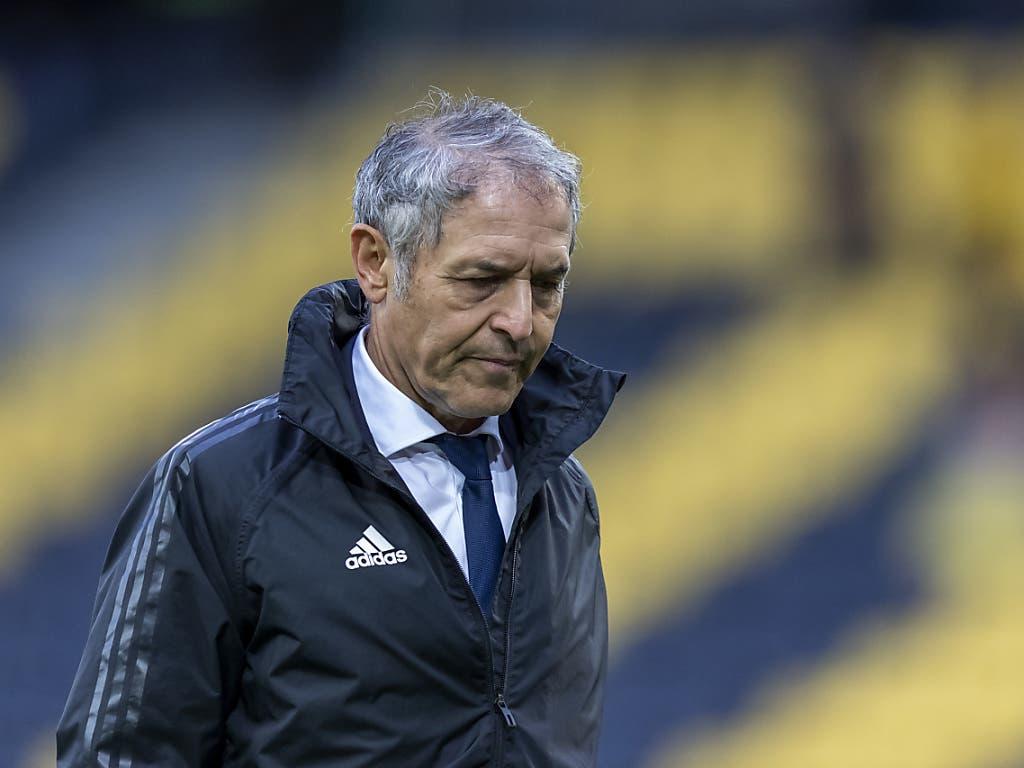 Marcel Koller verliert sein letztes Spiel als FCB-Trainer und bewahrt auch dieses Mal die Contenance - er ist erstaunt, wie viel er beim taumelnden FC Basel nach 23 Jahren Trainertätigkeit noch gelernt hat