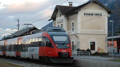 Projekt deutlich verworfen: Liechtenstein ist gegen die Realisierung einer S-Bahn. (Bild Günther Meier)