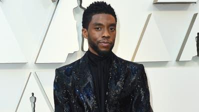 «Black Panther»-Star Boseman stirbt mit 43 - Tiefe Trauer in den USA