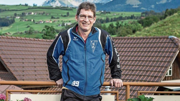 Die Liebe zum Verein treibt den Handballfan Daniel Aregger an