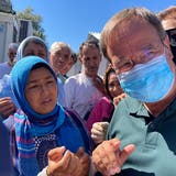 Deutscher Politiker bricht Moria-Besuch aus Sicherheitsgründen ab