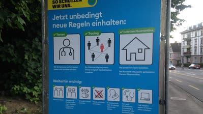 Übersicht über die Coronafälle im Kanton St.Gallen seit Beginn der Pandemie im März. (Screenshot: Fachstelle für Statistik Kanton SG)