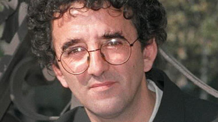 Der chilenische Schriftsteller Roberto Bolaño (1953–2003). Foto von 1998. (Julian Martin / AP EFE)