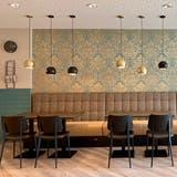 Einblick in das Café der neuen Aadorfer Nafzger-Filiale. (Bild: PD)