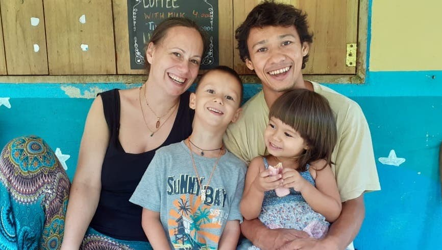 Brigitte Villa Eichenberger lebt mit ihrer Familie im kolumbianischen BergdorfMinca. (Bild: zvg)