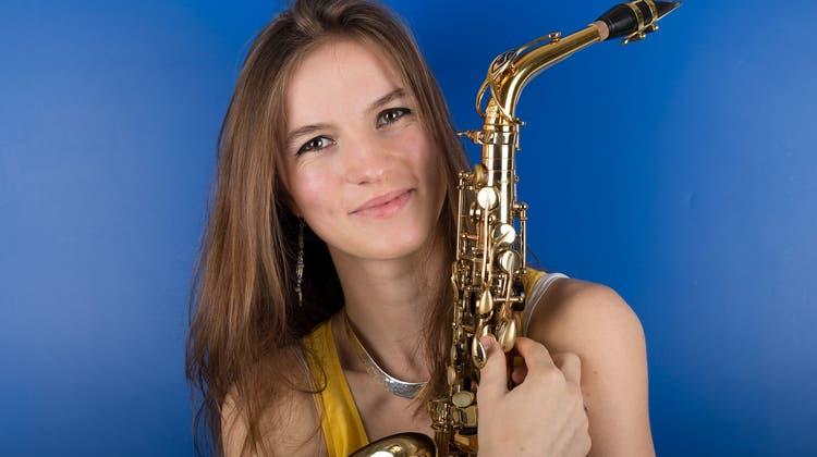 Saxofonistin Valentine Michaud (26). (PD)