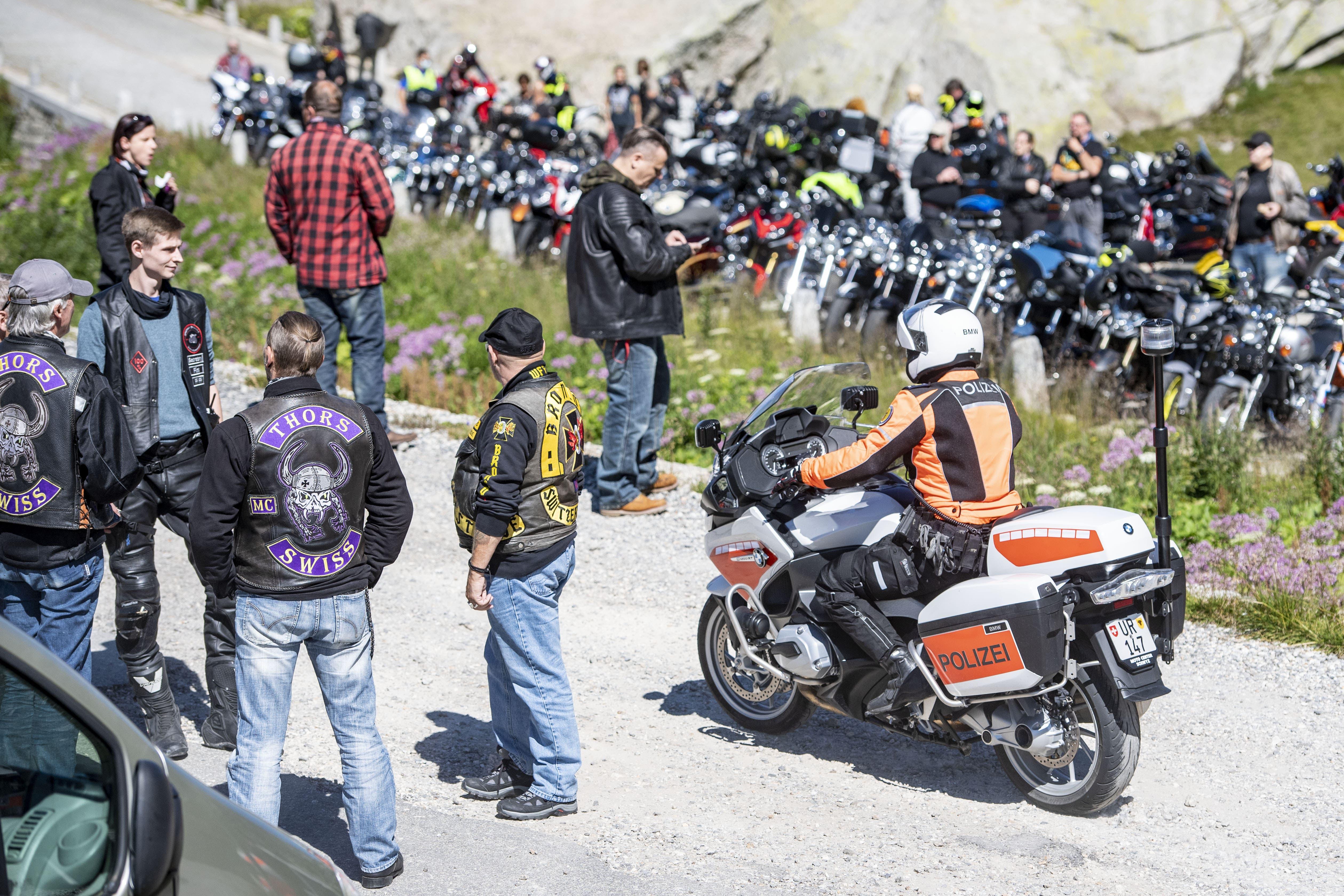 Die Kundgebung richtete sich auch gegen die Töfffahrer, die rücksichtslos laut unterwegs sind.