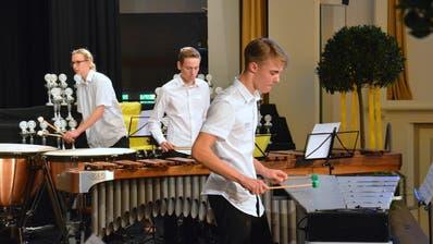 Junge Musiker zeigen amOSEW 2018 ihr Können. (Bild: Christoph Heer)