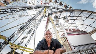 Es besteht Hoffnung, dass HP Maiers Riesenrad auch im kommenden Sommer auf dem Oberen Mätteli in Frauenfeld dreht