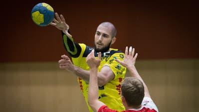 Dominik Jurilj und der TSV St.Otmar starten am Mittwoch in die neue NLA-Saison. (Benjamin Manser)