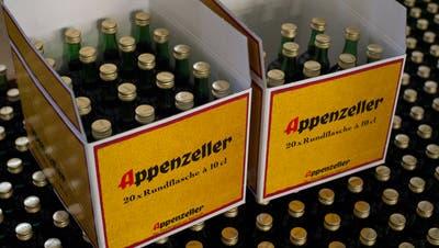 Die Appenzeller Alpenbitter AG will wegen des zunehmenden Platzmangels ihre Lagerhalle erweitern. (Alex Spichale / SON (19. Juni 2013))