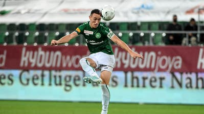 Vergangenheit: Silvan Hefti im Trikot des FC St.Gallen. (Bild: Freshfocus/Daniela Frutiger)