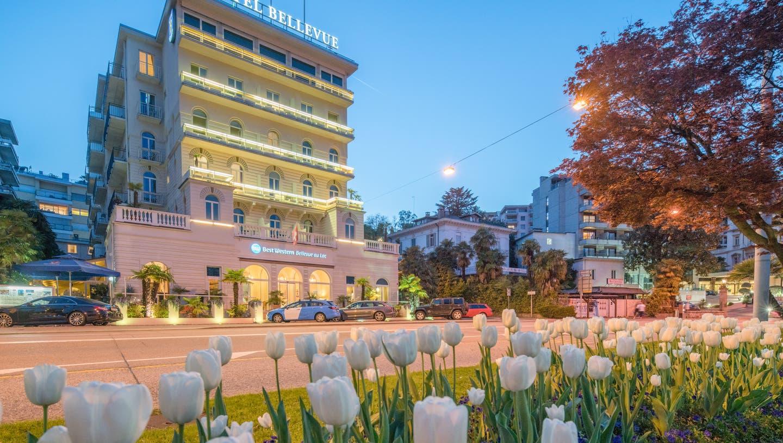 Lugano — eine Stadt zum Verlieben – 2 romantische Nächte direkt am See
