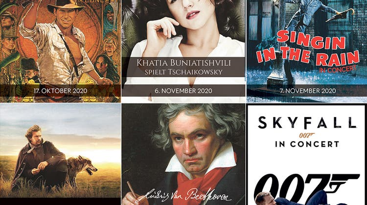 Sternstunden mit Filmmusik und Klassik im KKL Luzern