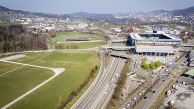 Die Sanierung der St.Galler Stadtautobahn wird sich verzögern. (Bild: Urs Bucher)