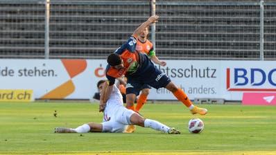 Nach hartem Kampf setzte sich der FC Aarau gegen Wil durch. (Bild: Gianluca Lombardi)