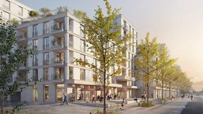Eine Visualisierung der Bauherrschaft, gesehen von der Luzernerstrasse aus. (Visualisierung: PD)