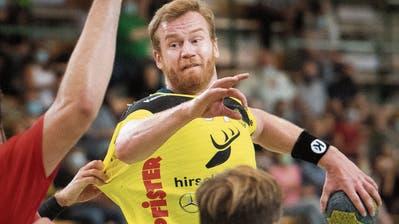 St.Otmars Handballer bieten ein Offensivspektakel gegen den BSV Bern– SpielgestalterAndrija Pendic sticht aus starkem Kollektiv heraus