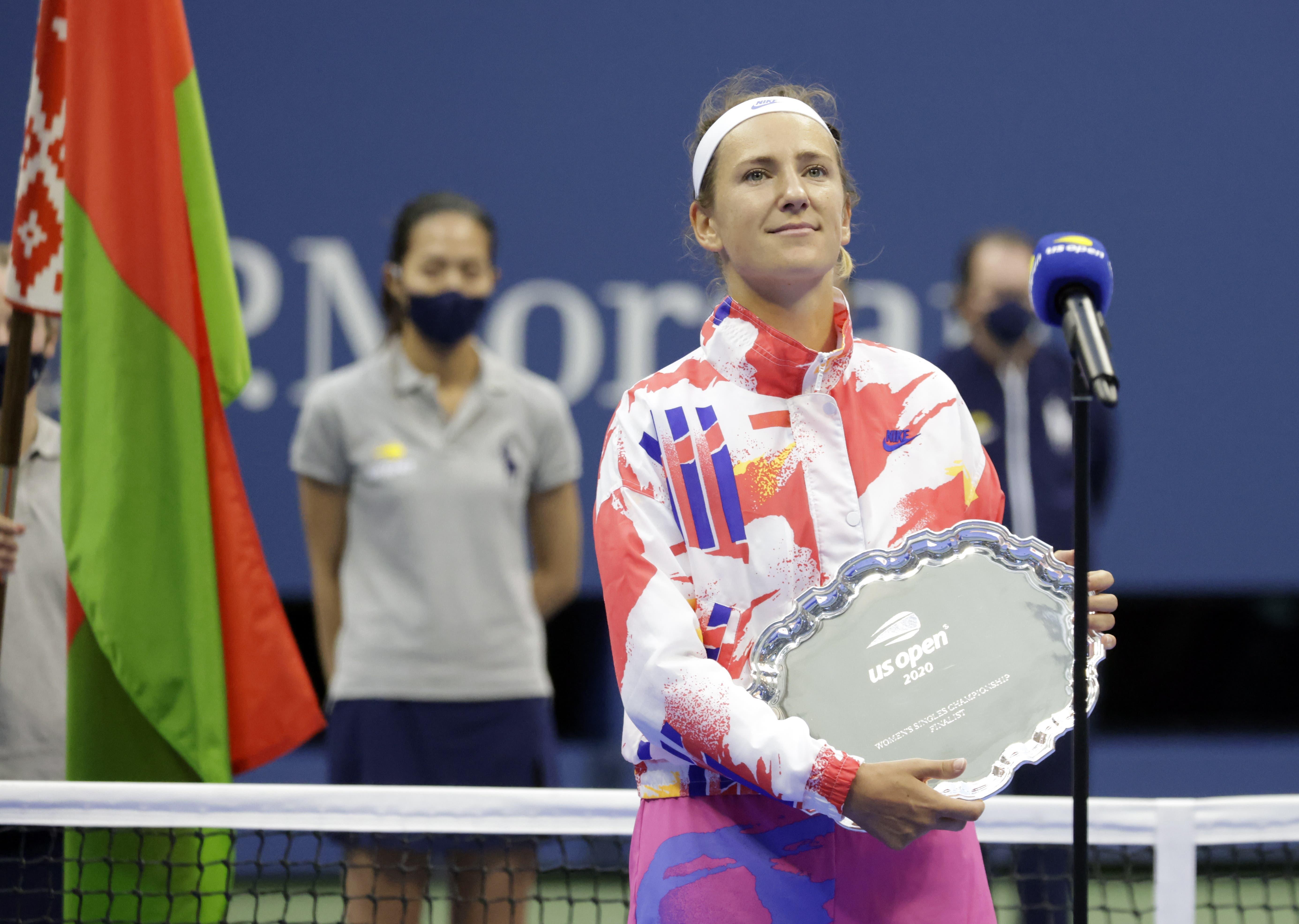 Victoria Azarenka verliert den Final.