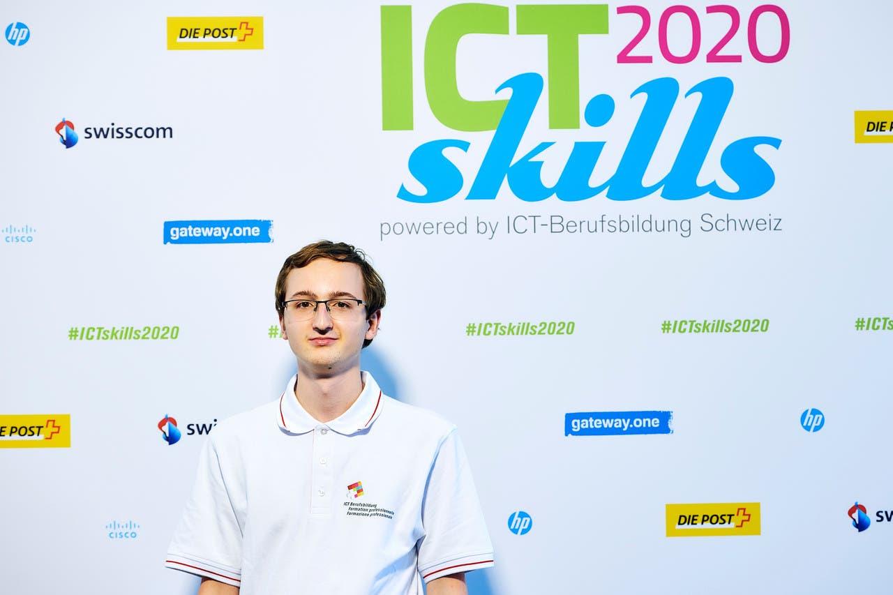 Thomas Gassmann, Informatiker, holte sich Gold in der Disziplin «IT Software Solutions for Business».