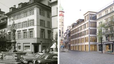 Der Neubau am Kapellplatz. (Bild: hor)