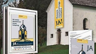 Flaggen an Gotteshäusern unerwünscht: Reformierter Kirchenrat Zürich verbietet Politpropaganda für Konzernverantwortungs-Initiative