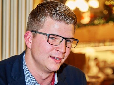 Nationalrat Mike Egger wird neuer Chefstratege der St.Galler SVP.