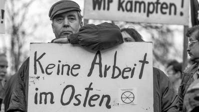 Ganz so gross wie 1992 sind die Unterschiede zwischen Ex-Ost- und Ex-Westdeutschland nicht mehr. Gleichauf sind die wiedervereinigten Landesteile aber noch längst nicht. (Keystone)