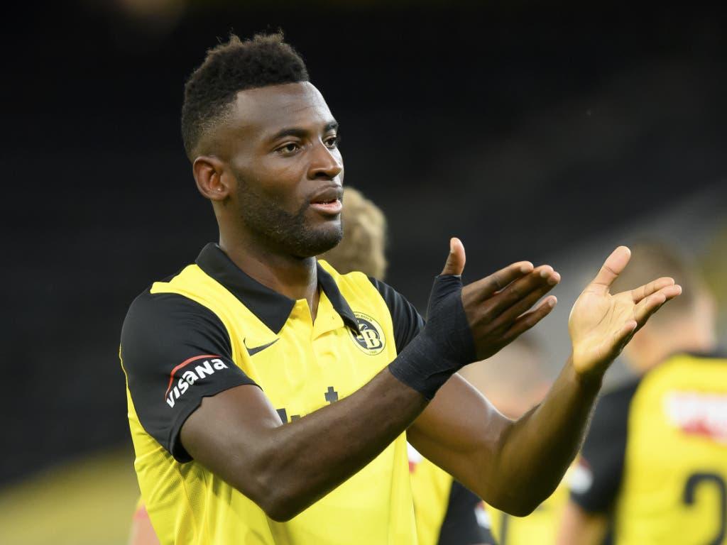 Torschützenkönig Jean-Pierre Nsame könnte YB zumindest noch in der Europacup-Qualifikation wichtige Dienste leisten