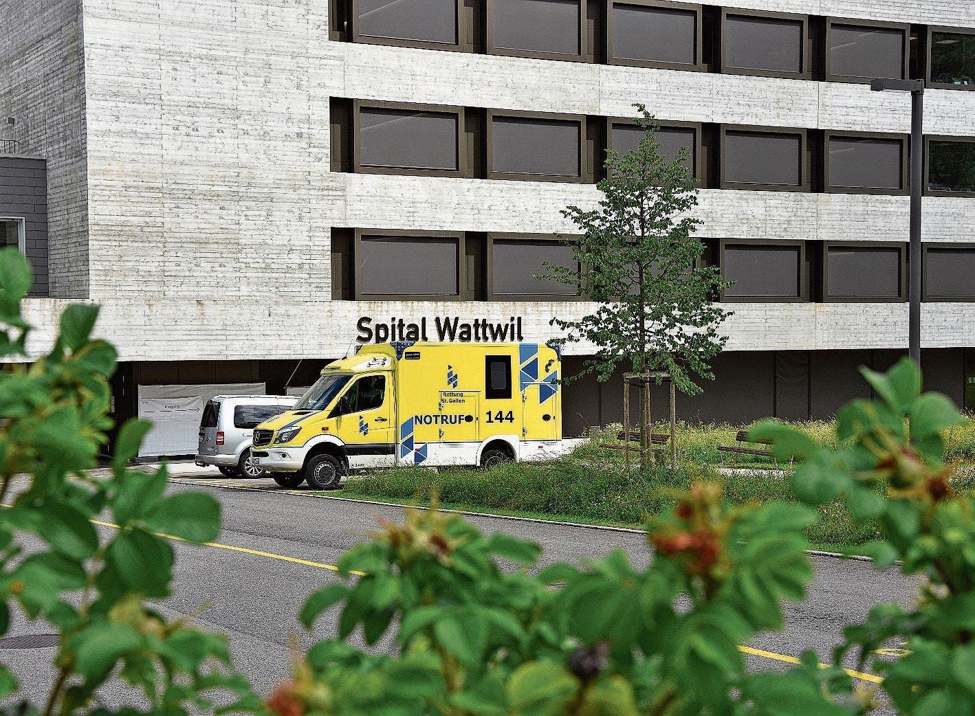 Vor dem Aus: Das Spital Wattwil...