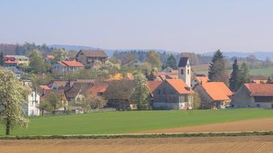 Blick von Westen auf Oberneunforn. ((Bild: PD/www.neunforn.ch))