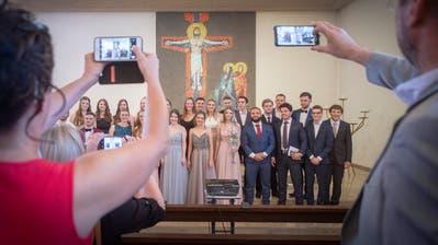 Privatschule mit katholischer Prägung: In der «Unteren Waid» wird es nur noch eine Maturafeier geben. (Urs Bucher (21. Juni 2019))