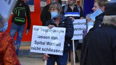 Sabine Keller, Bürgerforum Pro Regionalspital Wattwil. (Bild: Ruben Schönenberger (St.Gallen, 16. September 2020))