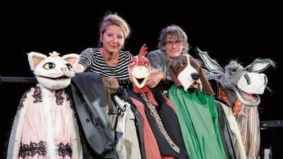 Im Figurentheater St.Gallen stürmen die Alten auf die Bühne
