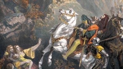 Königin Astrid von Belgienstürzte bei Küsnacht mit ihrem Wagen eine Uferböschung herunter. (Bild: kus)