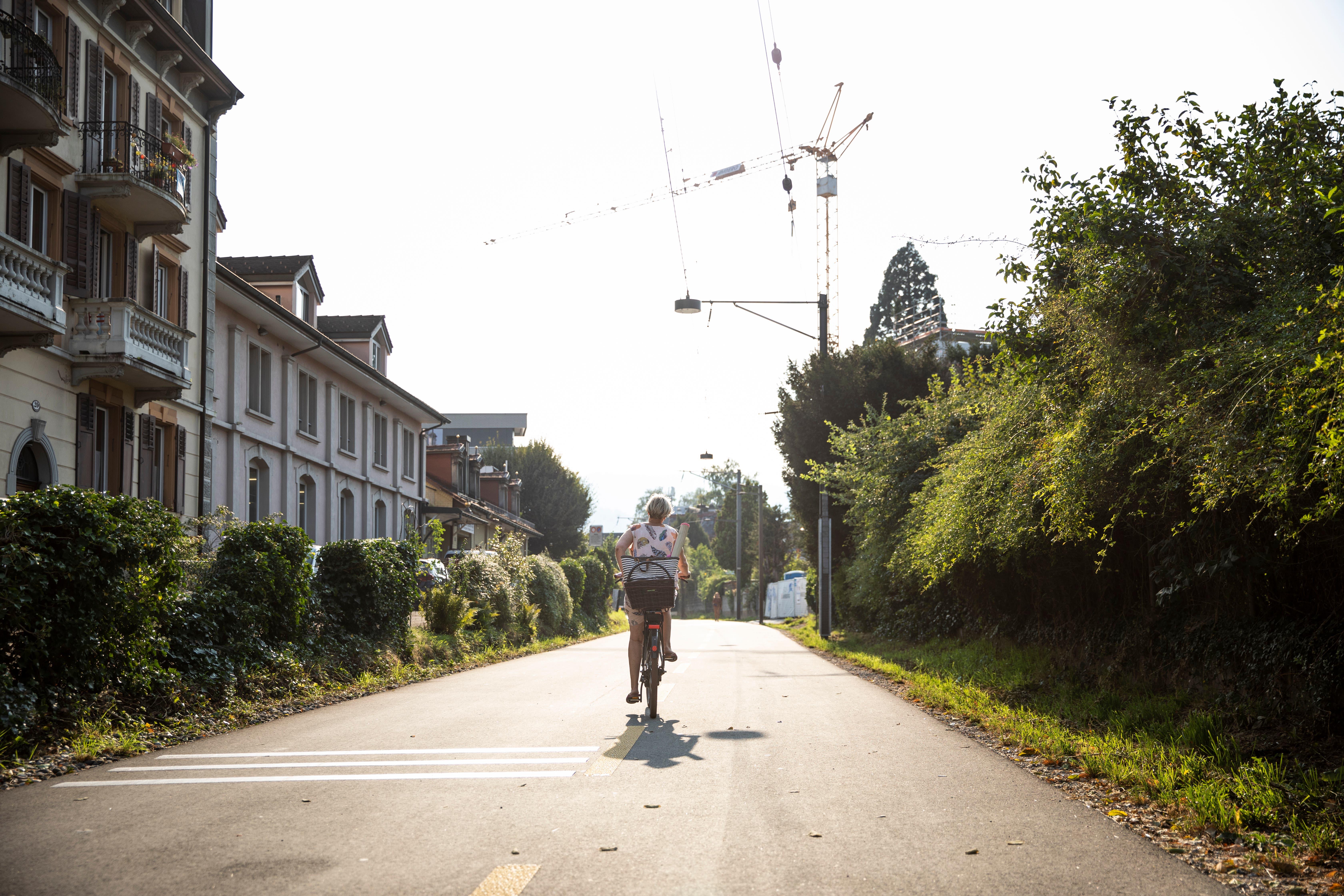 Einen Anteil von 12 Prozent der zurückgelegten Wege hatte das Velo 2015 in Luzern. Auf ein in der Stadt eingelöstes Auto kamen 1,7 Parkplätze.