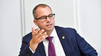 Regierungsrat Urs Martin ruft dazu auf, im Hinblick auf die vielen Veranstaltungen, die im Kanton Thurgau dieses Wochenende stattfinden, besondere Sorgfalt walten zu lassen. ((Bild: Donato Caspari))