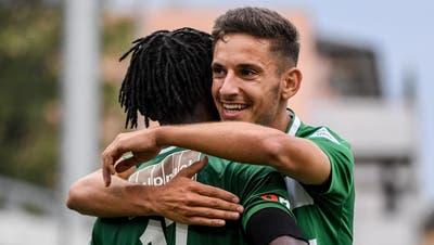 SC Kriens siegt mit 3:1 gegen Xamax – Captain Alessandrini:«Man darf unsere Leistung nicht unterschätzen»