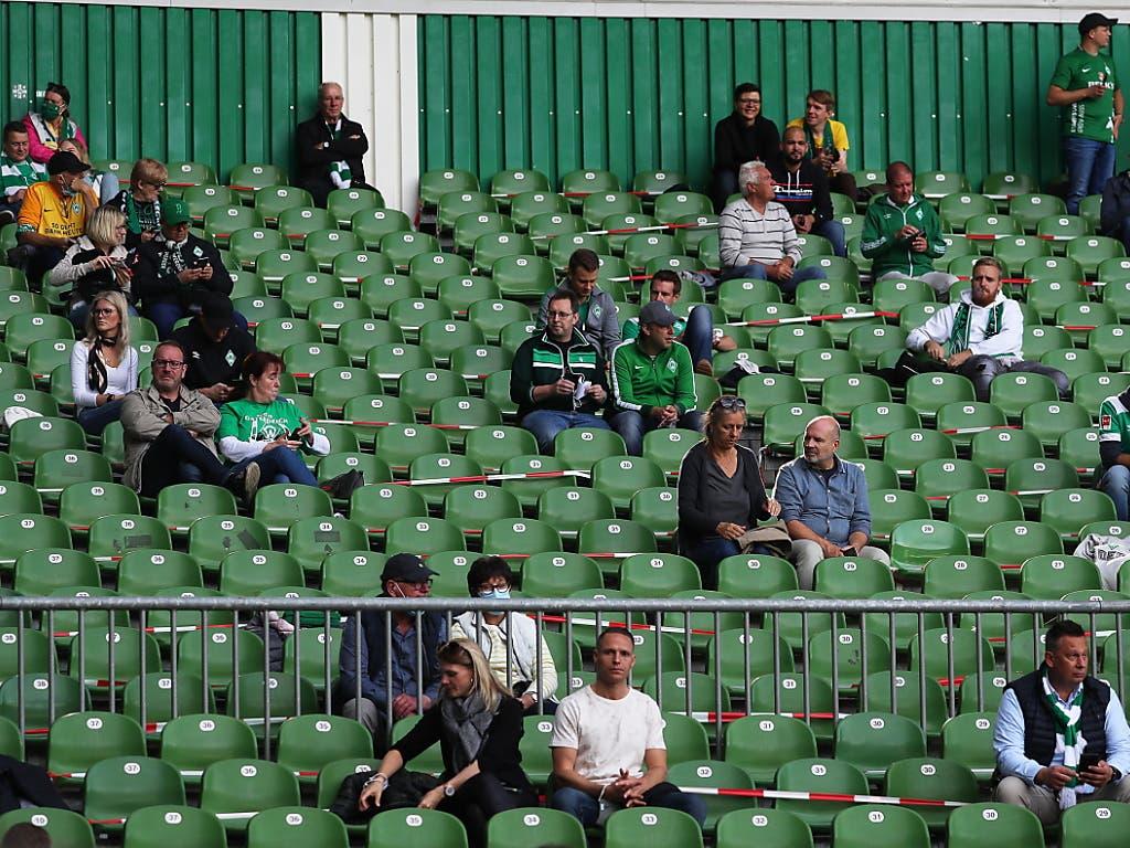 In der Bundesliga waren am 1. Spieltag wieder reduziert Fans zugelassen