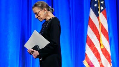 Ruth Ginsburg ist im Alter von 87 Jahren verstorben. (Keystone)