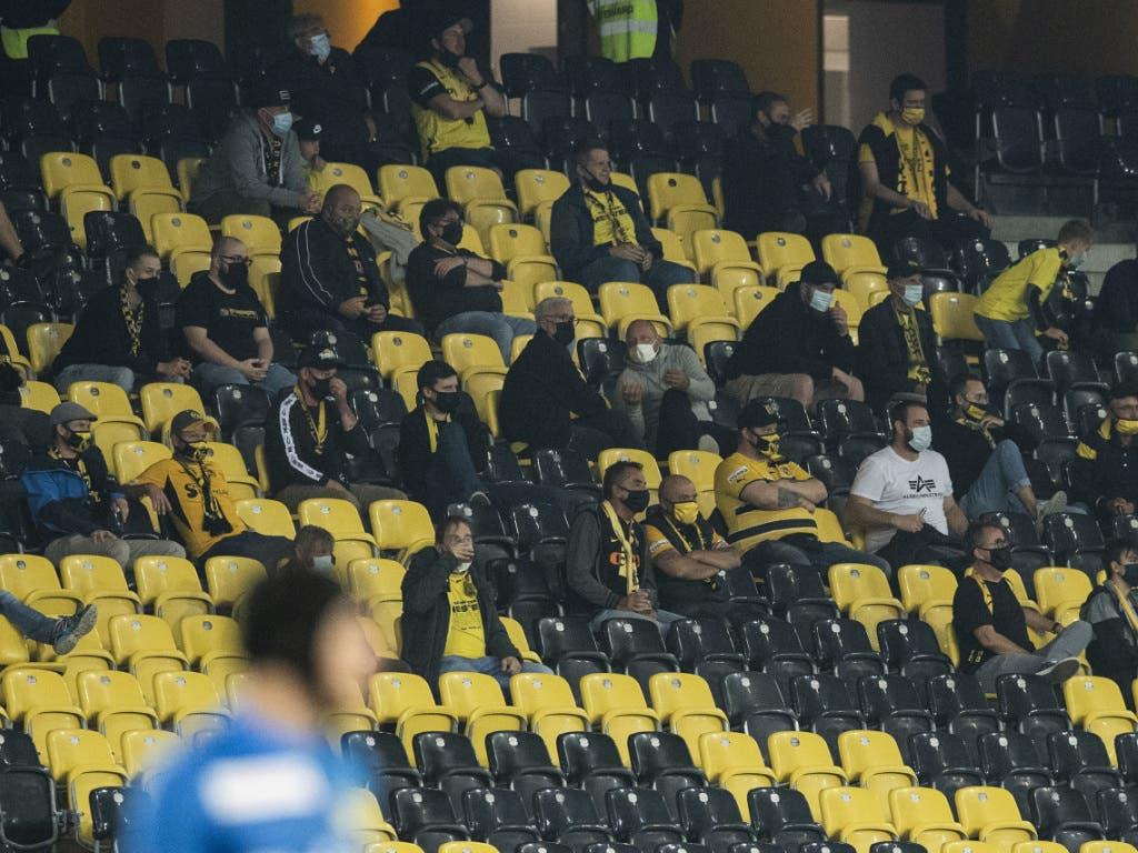 Es wird vorderhand das letzte Spiel im Wankdorf mit ganz wenigen Zuschauern gewesen sein